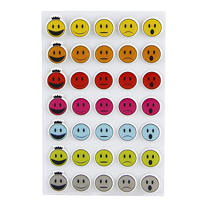 Stickers Cooky: Smileys Appréciations